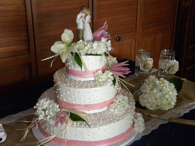Jak wybrać figurki na tort weselny